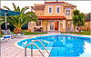 Villa Anemoni - Pool front and swimming pool