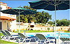 Villa Anemoni - Sunbeds and umbrellas