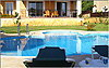 Villa Chloe - Main terrace, swimming pool and paddling-pool