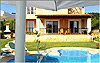 Villa Chloe - Swimming pool, paddling-pool and main terrace