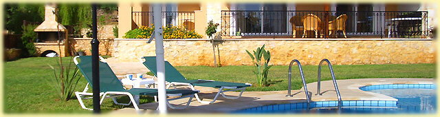 Terrace, sun terrace and swimming pool